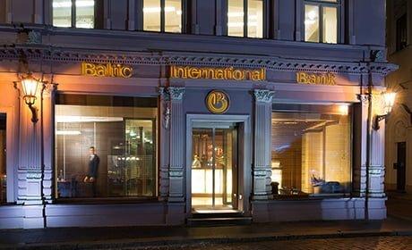Bank im Baltikum zu verkaufen