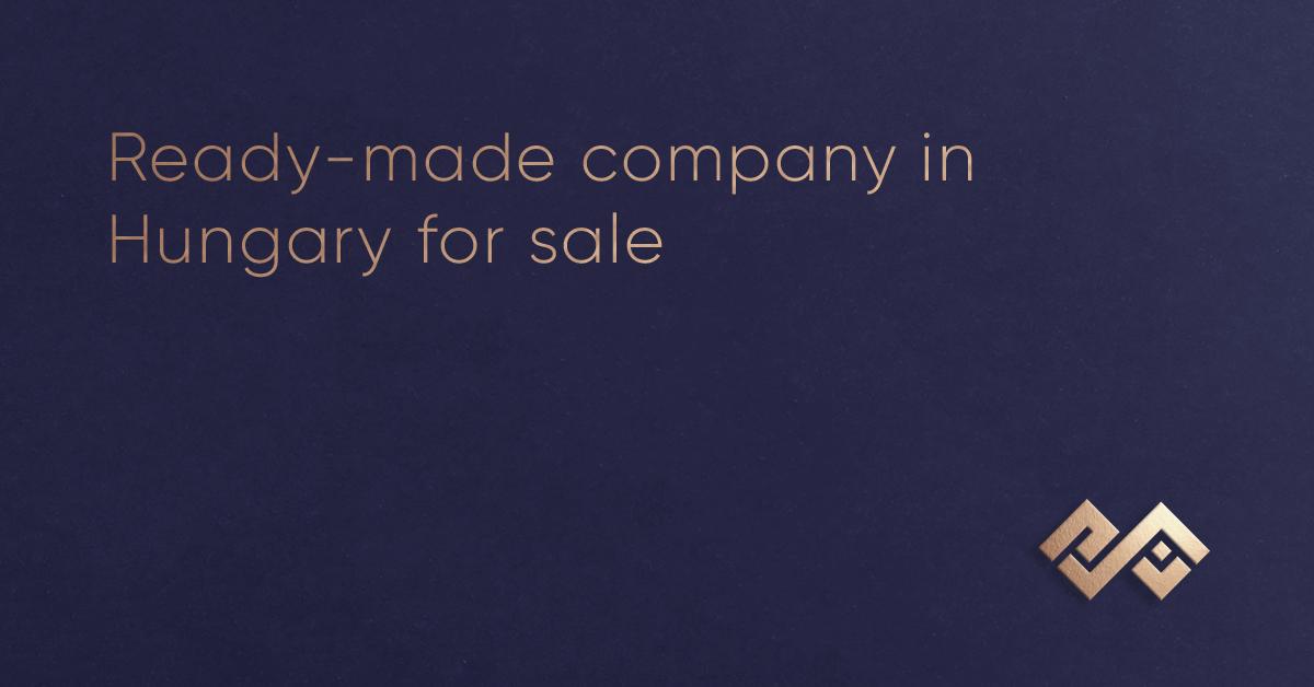 हंगरी में बिक्री के लिए तैयार कंपनी